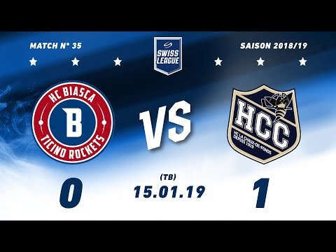 15.01.2019 HC Biasca Ticino Rockets - HC La Chaux-de-Fonds (0-1) TB
