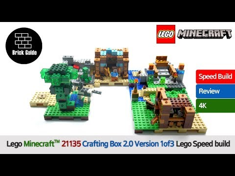 Lego Minecraft™ 21135 Crafting Box 2 0 Version 1of3 Lego Speed build Review