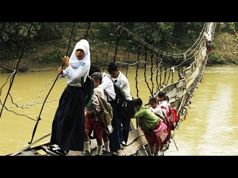 The Most Terrifying Bridges In The World