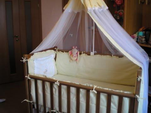 Кроватки для новорожденных с балдахином фото