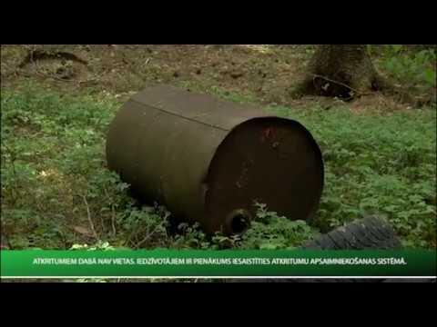 Atbrīvošanās no atkritumiem iespējas Valmierā