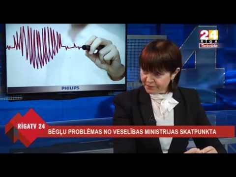 """Veselības ministra Dr. Gunta Belēviča intervija Rīga TV24 """"Dienas personība"""""""