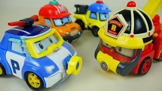 Video Water Poli car toys - New Robocar Poli Space Fireman Marine car toys - ToyPudding 로보카폴리 MP3, 3GP, MP4, WEBM, AVI, FLV Oktober 2018
