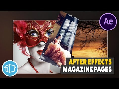 Magazine Page Flip Tutorial For Adobe After Effects
