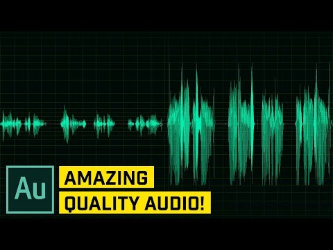 Make Your Audio And Voice Sound Better – Audition Cc Tutorial