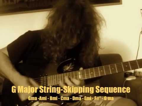 Roberto Vanni: Alternate Picking (A Minor); Legato (Lydian Dominant); String Skipping (G Major)