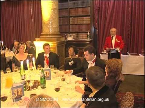 Ordine Constantiniano 2003 – Discorso del Vice Delegato per Irlanda il senatore Donal Lydon
