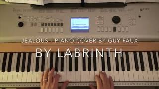 Video Jealous by Labrinth - Piano Cover - (Instrumental) - by Guy Faux MP3, 3GP, MP4, WEBM, AVI, FLV Maret 2018