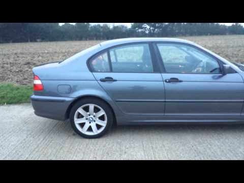 2001 BMW E46 318i 318 SALOON VIDEO REVIEW
