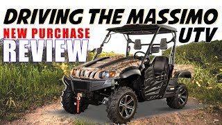 8. Driving a UTV Vehicle: MASSIMO MSU 500