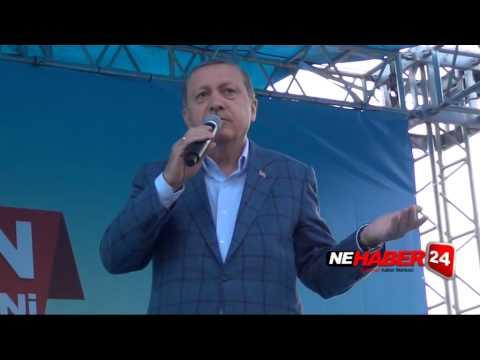 Milletin Adamı Cumhurbaşkanı Recep Tayyip Erdoğan Erzincan'da halka hitap etti