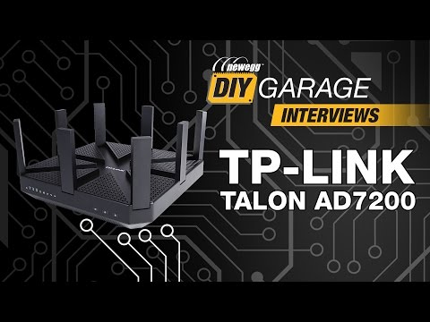 Newegg DIY Garage: TP-LINK Talon AD7200 Wireless Router