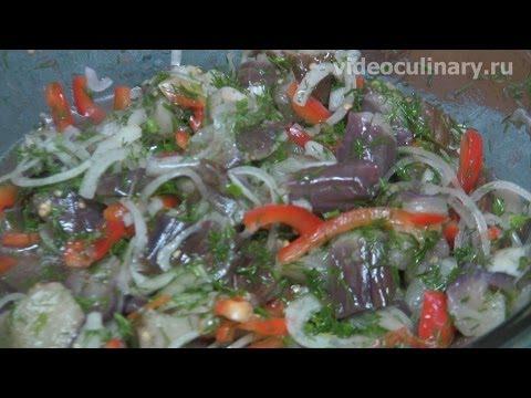 Рецепт баклажаны по корейски от