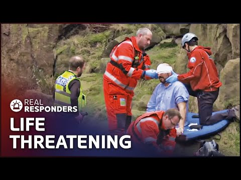 Patient's Arm Is Amputated In Deadly Industrial Accident | Helicopter ER S1 E3 | Real Responders