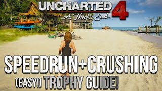 Video EASY Uncharted 4 Speed Run + Crushing Trophies Guide! - Fastest/Easiest Method! MP3, 3GP, MP4, WEBM, AVI, FLV Juli 2018