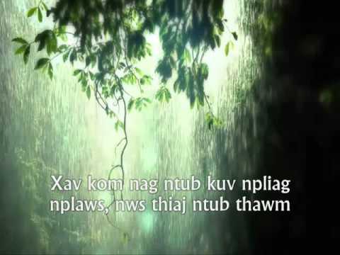 Ntxhee Yees Xyooj - Dej Nag Ntws Ua Dej Siab (видео)