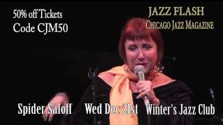 JAZZ FLASH!!! Spider Saloff at Winter's Jazz Club