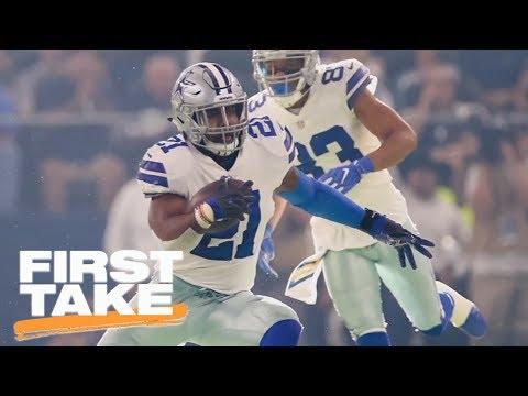 Is NFL losing 'power' through Ezekiel Elliott suspension process? | First Take | ESPN (видео)