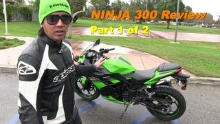 8. 2013 Kawasaki NINJA 300 Special Edition Starter Bike - REVIEW & Comparison Part 1 of 2