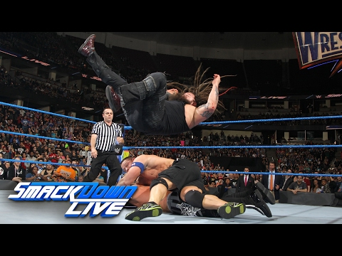 Download John Cena vs. Bray Wyatt vs. AJ Styles - WWE Title Triple Threat Match: SmackDown LIVE, Feb 14, 2017 HD Mp4 3GP Video and MP3