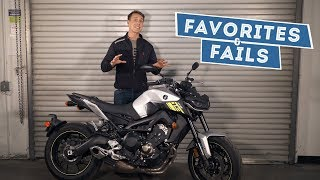 8. 2017 Yamaha FZ-09 Favorites & Fails