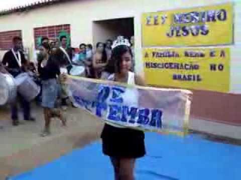 Desfile civico de Lagoa de Dentro- Itatira -2010. Banda.