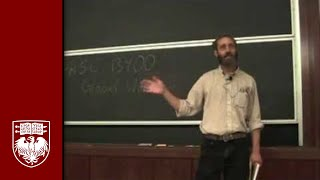 Lecture 1 - Scope of the Class