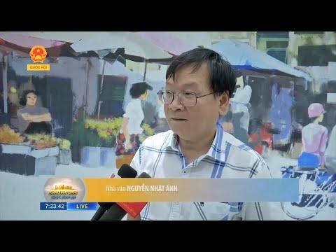 Truyền hình Quốc hội: Nhà văn Nguyễn Nhật Ánh ra mắt tác phẩm Con chim xanh biếc bay về
