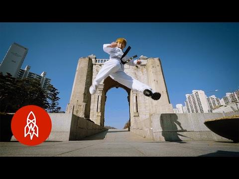 Tricking is Martial Arts Meets Acrobatics