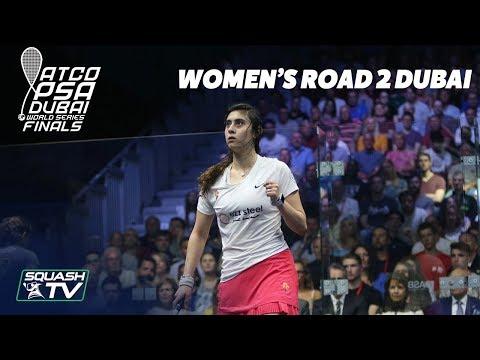Squash: Women's Road 2 Dubai 2017/18