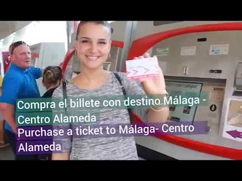 Easy approach from Málaga airport!