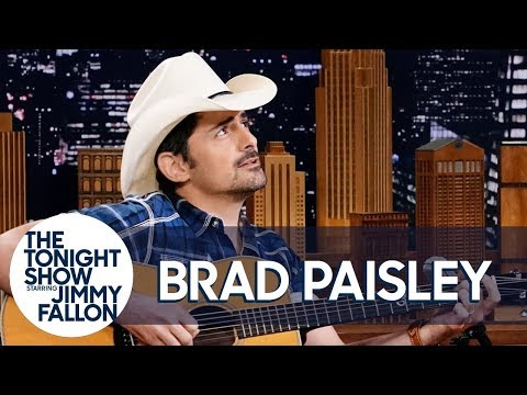 Brad Paisley Debuts Unreleased Love Song