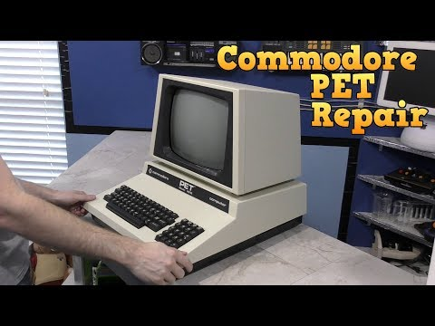 Commodore PET Repair and Restore