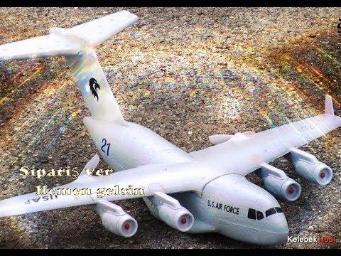 Uçuşa Hazır RTF Uzaktan Kumandalı Model Uçak