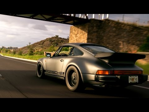Modified Porsche 930 Turbo Review - The Widow Maker!! (видео)