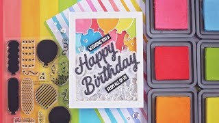Birthday Balloon Shaker Card | Pink & Main's 5th Birthday Blog Hop!