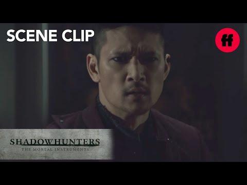 Shadowhunters   Season 3, Episode 10: Magnus' Dramatic Entrance   Freeform