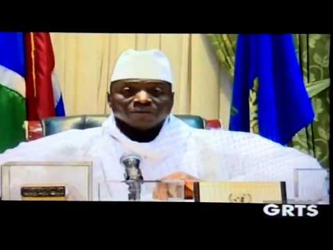 Yahya Jammeh addressed the Nation January 10th