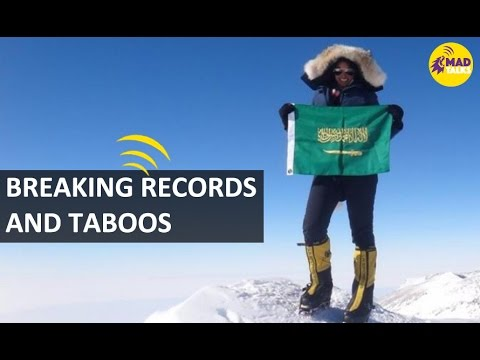 First Saudi woman to conquer Everest | Raha Moharrak