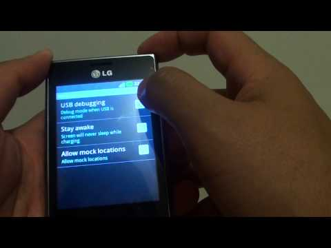 LG L3: How to Enable/Disable USB Debugging