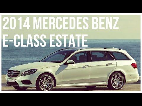 Mercedes Benz E-Class Estate Interior, Exterior and Drive