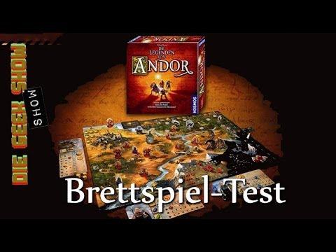 DIE LEGENDEN VON ANDOR Brettspiel vorgestellt | SPIEL'13 (Spieletest)