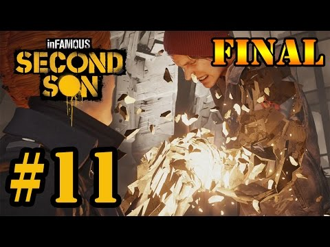 second - Parte 11 do meu Let's Play do game Infamous Second Son, jogo exclusivo para PS4. Espero que gostem =D ----------------------------------------------------------------------------------------------...