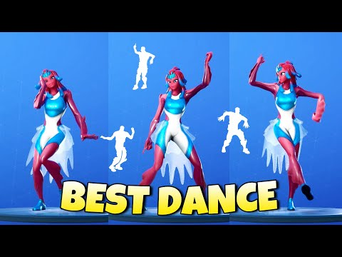 BRYNE Skin with Best Fortnite Dances & Emotes!