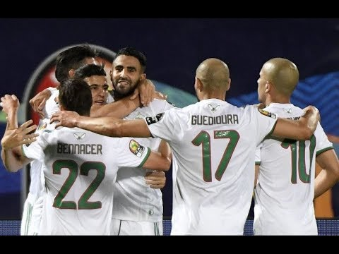 ALGERIA vs NIGERIA AFCON 2019 Goals and Highlights