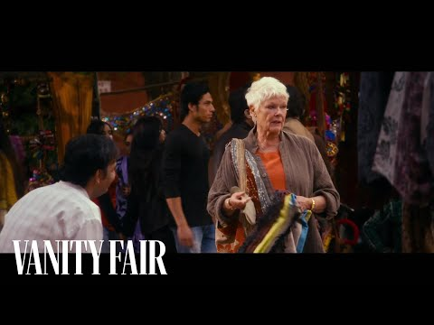 The Second Best Exotic Marigold Hotel (Clip 'Evelyn in the Market')