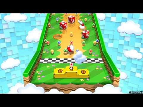 Mario Party 9 ~ Story Mode / Solo - Part 4 ~ Blooper Beach - Boss: Cheap Cheap/Blooper