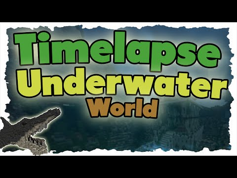 "Epic Minecraft Timelapse (Speedbuild) – ""Underwater World"" + Cinematic"