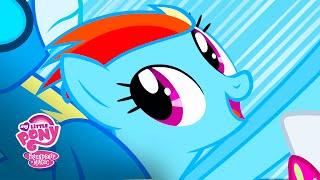 MLP: Friendship is Magic Season 1 - 'SONIC RAINBOOM!' Official Clip