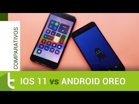 iOS 11 vs Android Oreo  Comparativo do TudoCelular